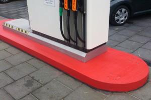 pompstation pomp rood